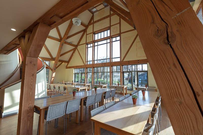 The Dining Room at Sheepdrove