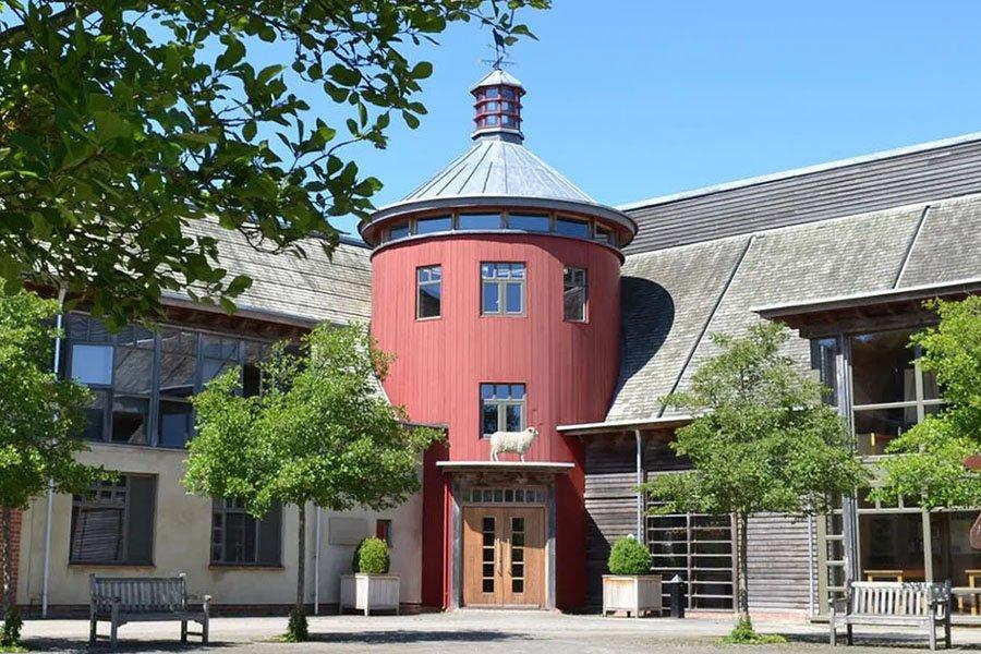 Conference centre at Sheepdrove Organic Farm