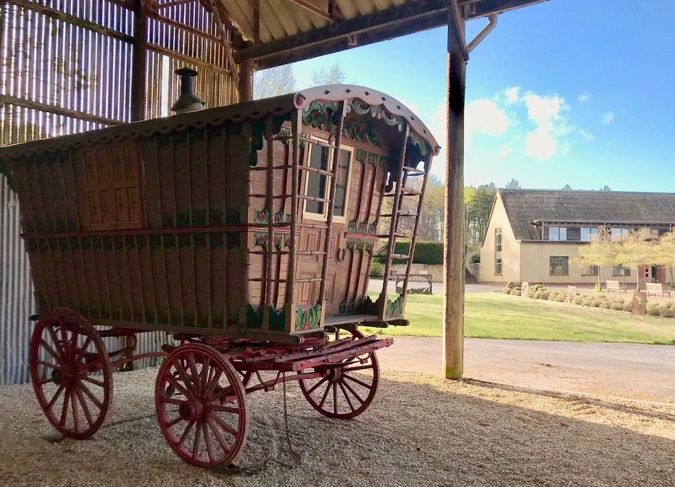 Sheepdrove's Gypsy Caravan